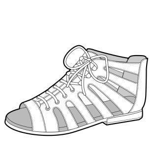 S/S 15 Design Direction: Girls' Footwear Key Items - Caged Sandal