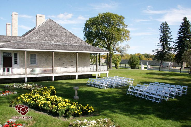 Provisions Events and Weddings can create an intimate garden ceremony for your special day!