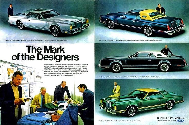 Lincoln Mark V, Designer Series