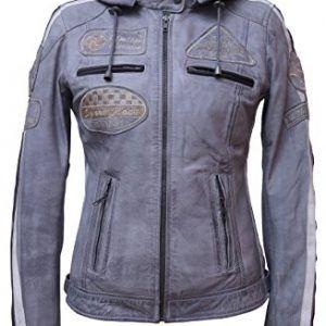 Urban-Leather-Mujer-Moto-Chaqueta-con-Protecciones-0