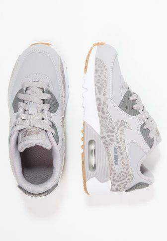 big sale c0500 6035c Nike Sportswear AIR MAX 90 - Trainers - atmosphere grey gunsmoke white light  brown - Zalando.co.uk   Kids Shoes   Pinterest   Trainers, Air max 90 and  Air ...