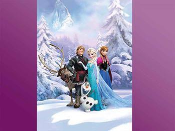 Adu în camera copilului tău personajele din Frozen - Regatul de gheaţă