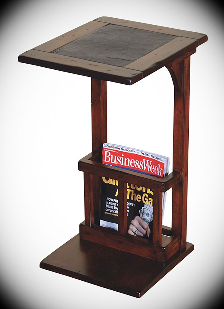 Sofa mate side table santa fe dark chocolate width 12 5 for Table th width ignored