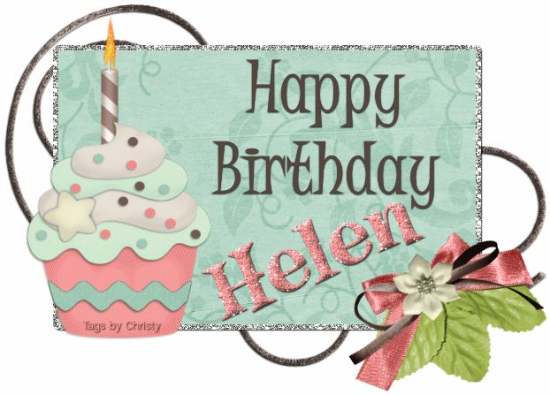 Glitter Text Personal Happy Birthday Helen Birthday Cards Birthday Name Happy