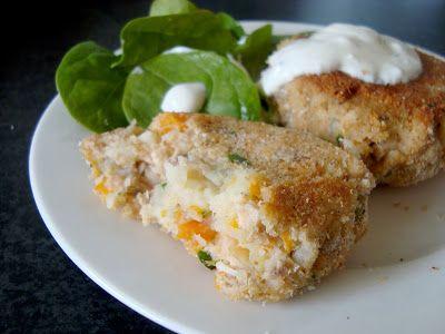 More Icing {please}: :: salmon rissoles ::