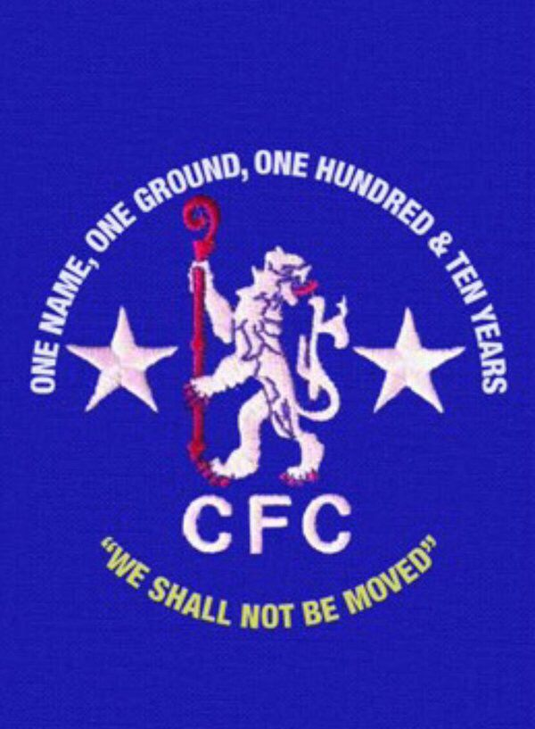 We shall not be moved cfc Chelsea FC