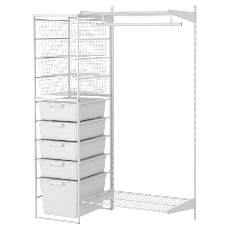ANTONIUS 2 sections,clothes rail & frame - IKEA