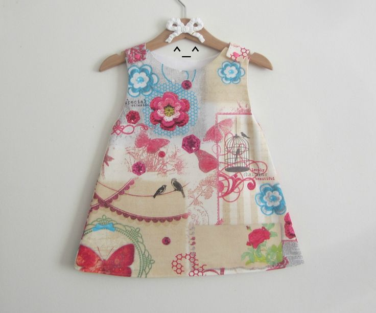 Robe trapèze 12/18 mois. : Mode Bébé par les-mimines