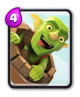 Clash Royale Barril de Goblins