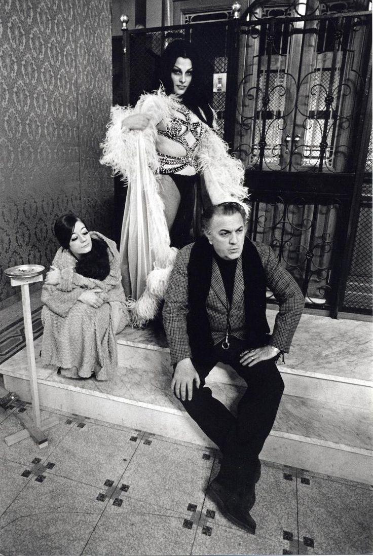 Fellini sul set Foto: Tazio Secchiaroli