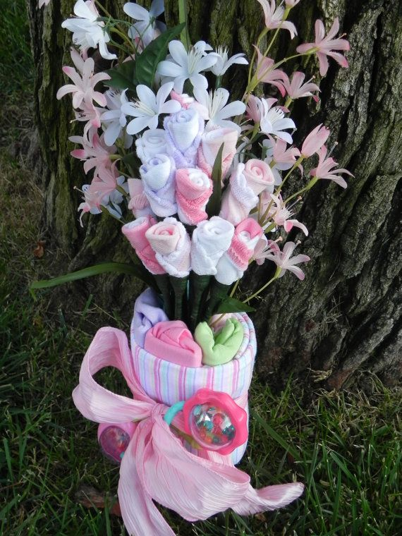 20 best onesie bouquet images on Pinterest | Baby showers ...