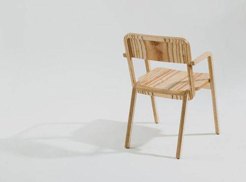 nothingtochance:  Prater Chair / Marco Dessi The idea for this... simple minimal wood stackable