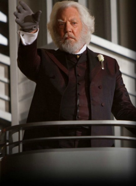 Day 4: Character that you Love that Everyone Else Dislikes: President Snow, because every story needs a villian