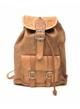 My Green Bag Tan Mini Rucksack. Buy @ http://thehubmarketplace.com/Tan-Mini-Rucksack