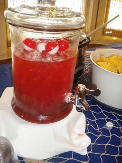 bobbers in the punch : Nautical Party theme