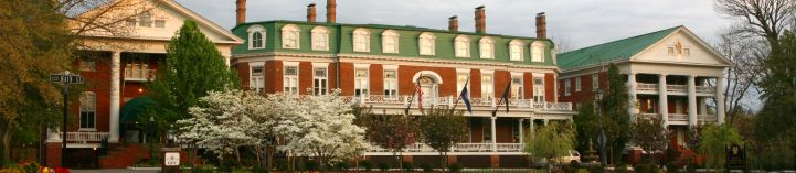 Martha Washington hotel spa Virginia The Barter Theatre Package  445 sun thru thursday 		      Superior Accomodations for one evening     Three Course Meal for two in the Sisters American Grill  ...