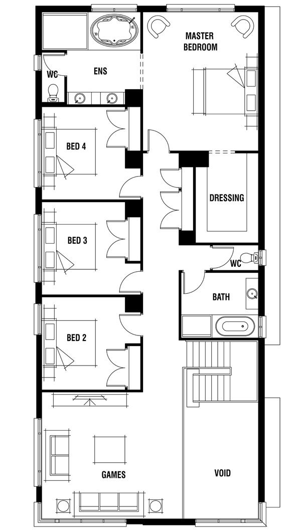 1000 images about arch floor plans on pinterest house for Porter davis home designs