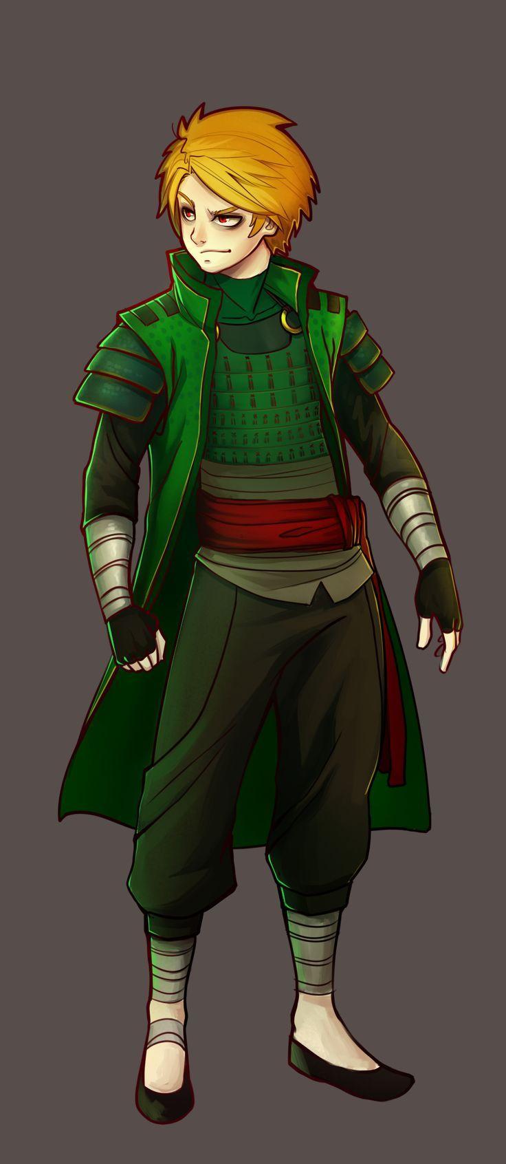Ninjago - Lloyd by E-RR-A.deviantart.com on @deviantART