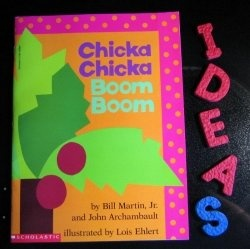 Chicka Chicka Boom Boom: Chicka Chicka, Boom Boom, Chicka Boom, Schools Ideas, Boom Activities, Alphabet Books, Learning Activities, Favorite Books, Boom Ideas