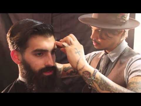 ▶ The Bearded Gentleman Haircut and Style featuring Joel Alexander - YouTube