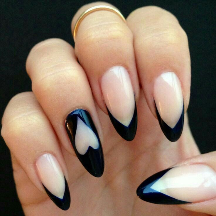 27 Stylish Short Almond Shaped Nails Design Ideas Are Best For Formal Parties And Special Occasions As They Look Very Classic