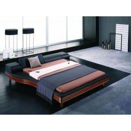 Portofino Adjustable Leatherette Bed with built-in Nightstands -  #furniture #bedroom #LAfurniture #LAfurnitureStore #Furnituredesign #HomeDecor #bed #bedroom #modernbed #contemporarybed