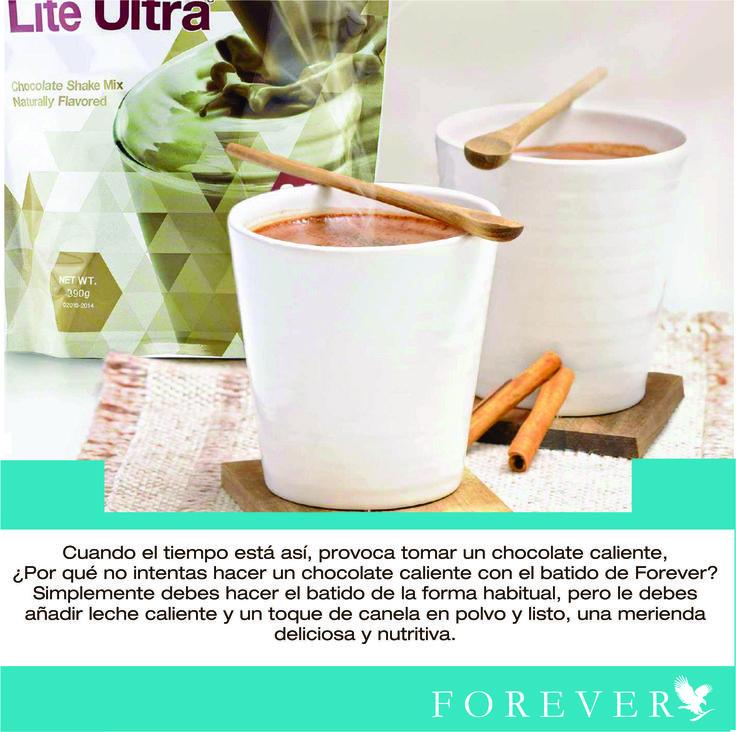 ¿Pensando en una deliciosa merienda? Complace tus antojos de manera saludable y sin culpas con Forever Lite Ultra Chocolate de Forever.