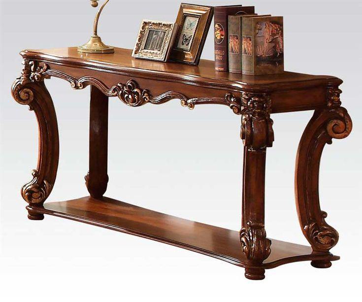 Sofa Tables Traditional Cherry Wood   Home >> Entryway & Hallway >> Hallway >> Traditional Console table AC ...