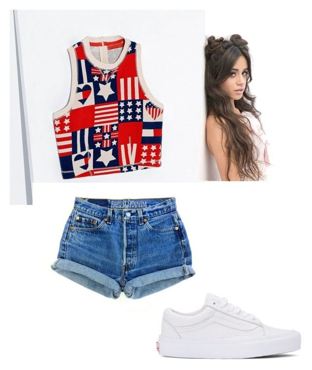 """Untitled #2322"" by dani-vasquez ❤ liked on Polyvore featuring Tommy Hilfiger and Vans"