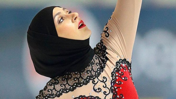 """""""Ice Princess in a Hijab"""" Has Her Eye on the Winter Olympics: Zahra Lari is a figure skater from the United Arab Emirates who dreams of becoming the first person to represent her country in the 2018 Winter Olympic Games."""