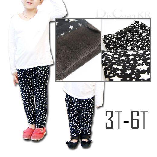 Kids Winter Fur Pants Thick Pants Warm Leggings Clothes 3-6T #DCKR #CasualFashion #Bottoms #Leggings