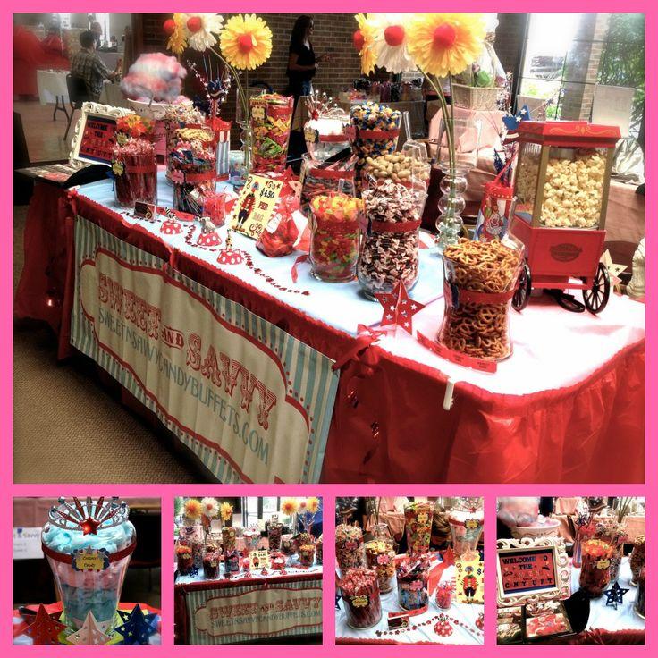 Carnival Circus Theme :: Candy Buffet
