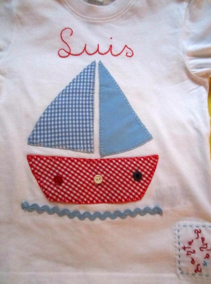 Tanta*Tanta, Manualidades personalizadas Comuniones Broches, pulseras, camisetas bordadas: Camisetas