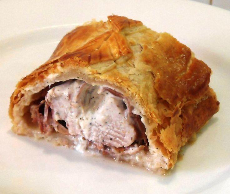 Easy Cheesy Pork Wellington