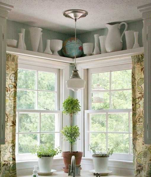 25 Charming Shabby Chic Living Room Decoration Ideas: 17 Best Ideas About Shelf Over Window On Pinterest