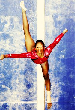 Gabby Douglas always allow your deams and thats mine to be in the olimpics. and never give up