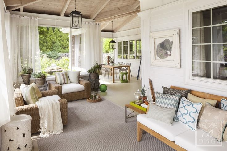 Upon entering, a full view of my Cove Porch Show house space. Designer:  Barbara Elza Hirsch of Elza B. Design, Inc. Photo Credit: Irvin Serrano