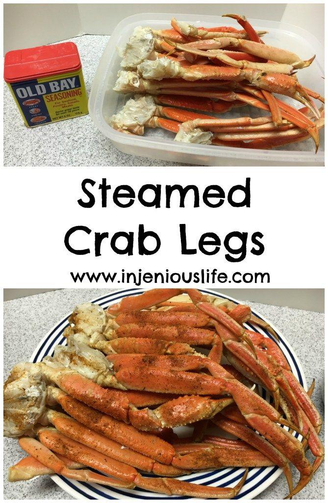 injeniouslife - Steamed Crab Legs - injeniouslife