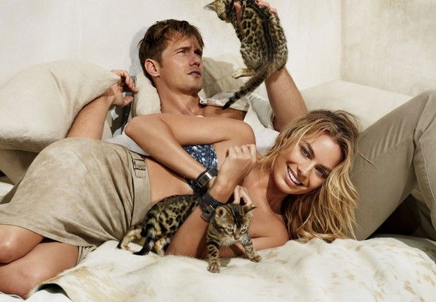 Марго Робби и Александр Скарсгард в Vogue US (Интернет-журнал ETODAY)