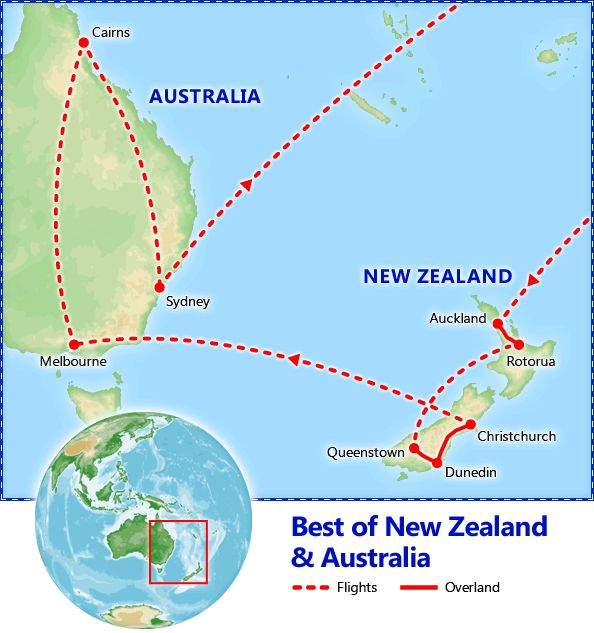 Best of New Zealand  Australia. Australia and New Zealand Vacation Packages - Friendly Planet