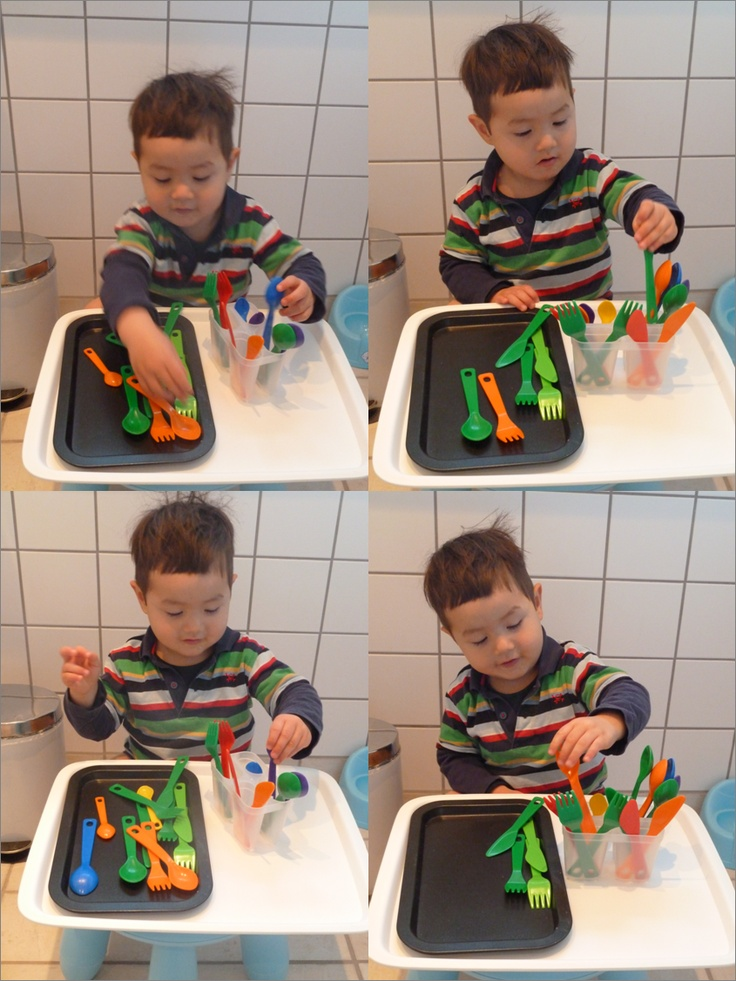 "Sorting Cutlery ("",)"