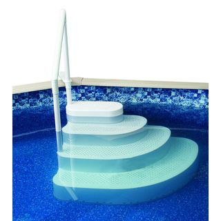 Horizon Ventures Deluxe In-Pool Ladder/Step Pad (4'x 5') | Overstock.com Shopping - The Best Deals on Pool Ladders & Steps