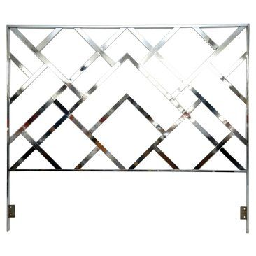 Check out this item at One Kings Lane! Milo Baughman Headboard, King