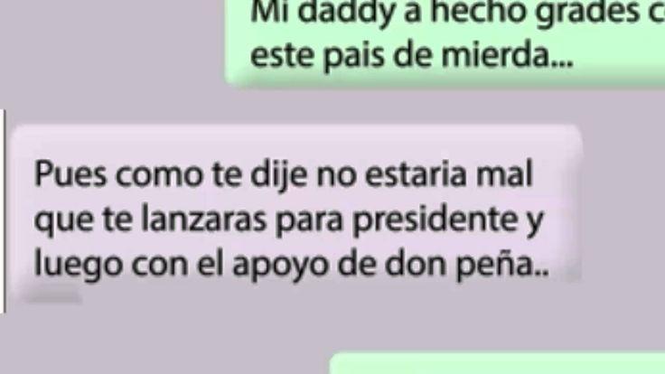 Anonymous Mexico Filtran Conversacion de alejandro peña pretelini (Hijo ...