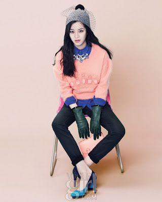 Lee Yoo Bi Vogue Girl Magazine December 2012
