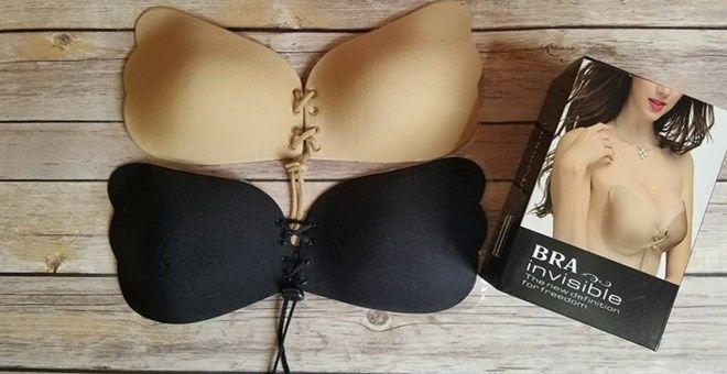 Adjustable strapless Sticky bra Only 10.99