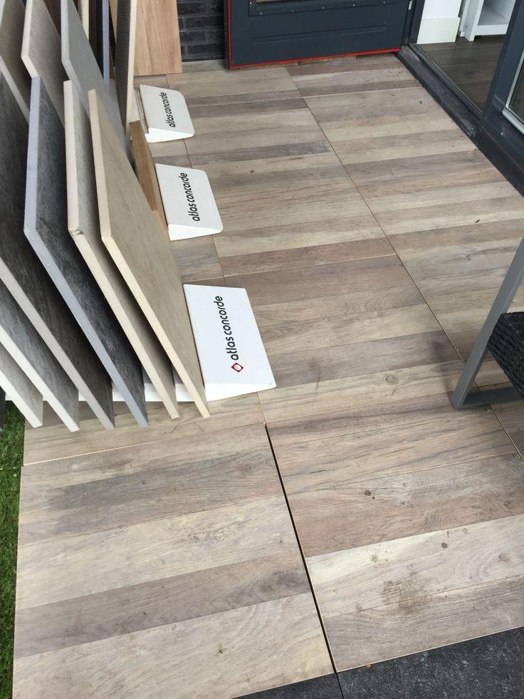 Buitentegels houtlook