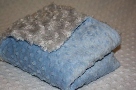 Minky Blanket Personalized Minky Blanket Custom Blanket