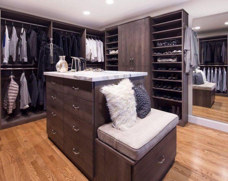 28 beautiful walkin closet storage ideas and designs