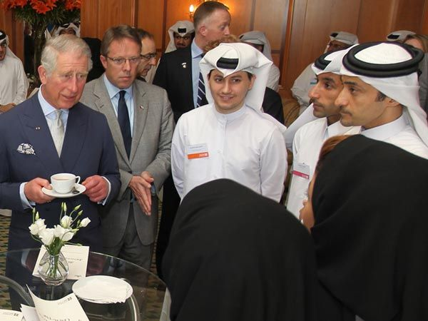 Es wäre so schön gewesen: Prinz Charles (64) auf Staatsbesuch im Mittleren Osten entzückt mit Sprachkenntnissen in Arabisch. Das war